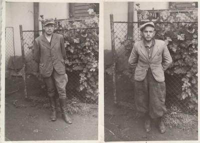 В'язні, що вижили під час розстрілів, випущені із в'язниці після окупації Станіславова угорцями 3 липня 1941 р.