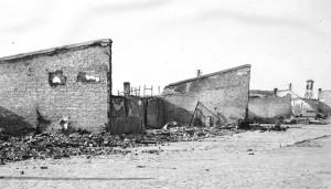 Зовнішні мури концтабору